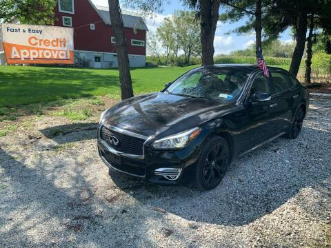 2015 Infiniti Q70L for sale at Caulfields Family Auto Sales in Bath PA