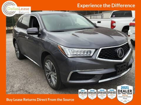 2017 Acura MDX for sale at Dallas Auto Finance in Dallas TX