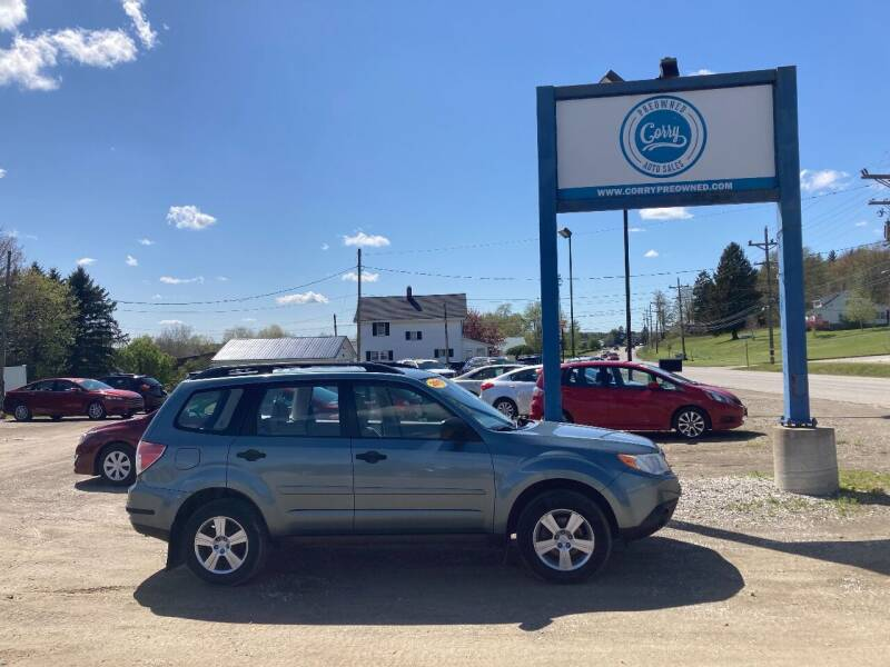 2011 Subaru Forester for sale at Corry Pre Owned Auto Sales in Corry PA