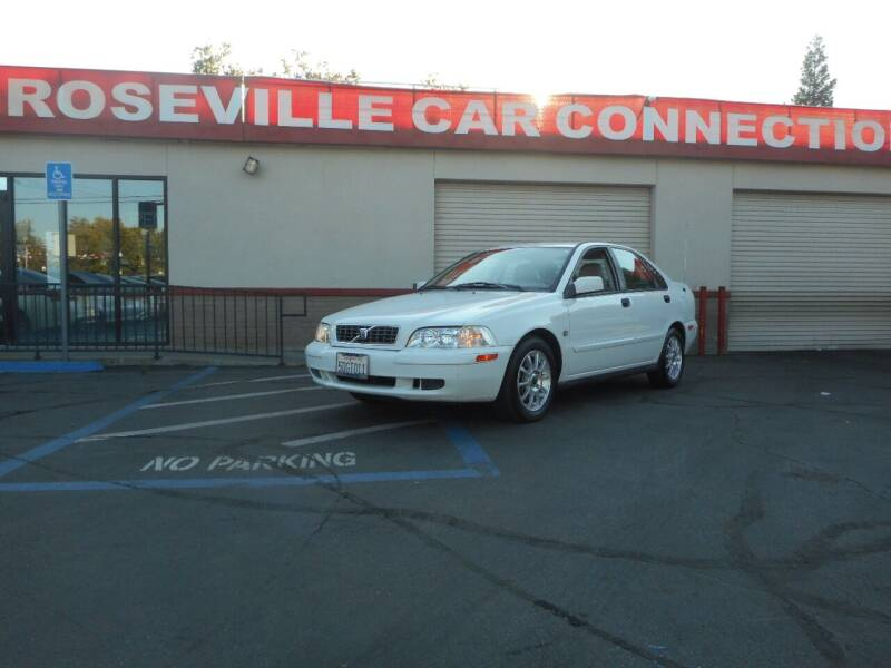 2004 Volvo S40 for sale at ROSEVILLE CAR CONNECTION in Roseville CA