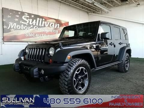 2013 Jeep Wrangler Unlimited for sale at TrucksForWork.net in Mesa AZ
