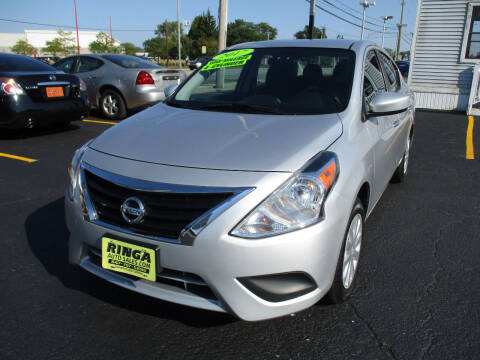 2017 Nissan Versa for sale at Ringa Auto Sales in Arlington Heights IL
