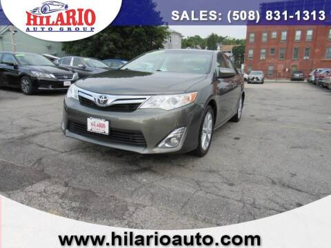 2014 Toyota Camry for sale at Hilario's Auto Sales in Worcester MA