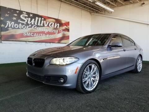 2015 BMW 5 Series for sale at SULLIVAN MOTOR COMPANY INC. in Mesa AZ