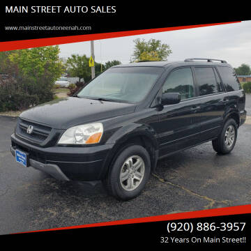 2005 Honda Pilot for sale at MAIN STREET AUTO SALES in Neenah WI