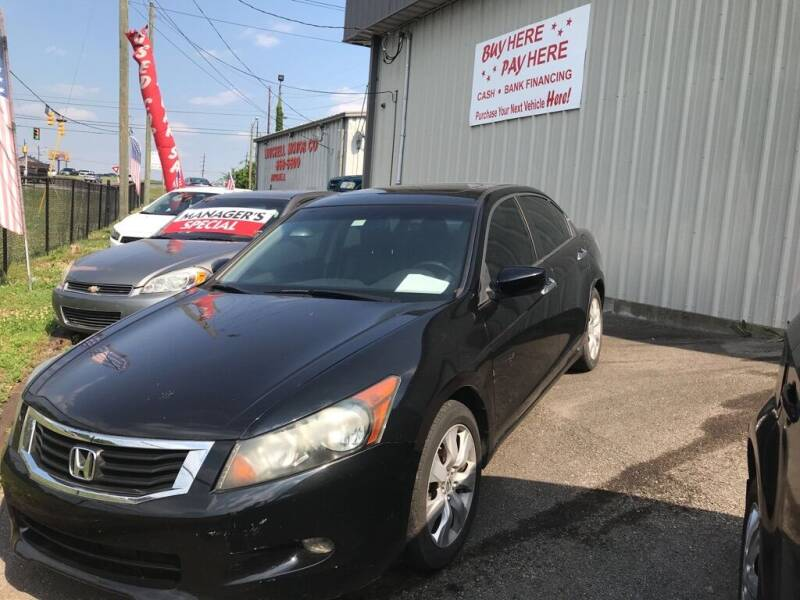 2008 Honda Accord for sale at Mitchell Motor Company in Madison TN