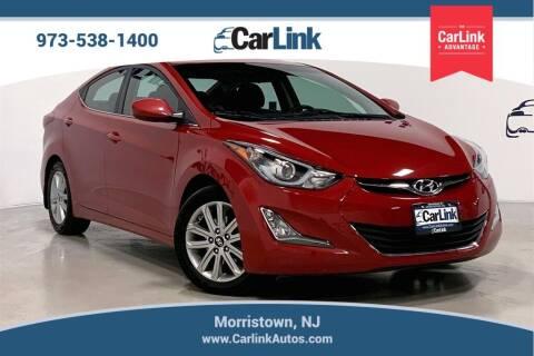 2015 Hyundai Elantra for sale at CarLink in Morristown NJ