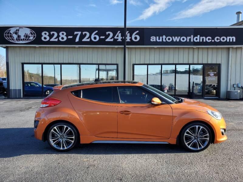 2016 Hyundai Veloster for sale at AutoWorld of Lenoir in Lenoir NC
