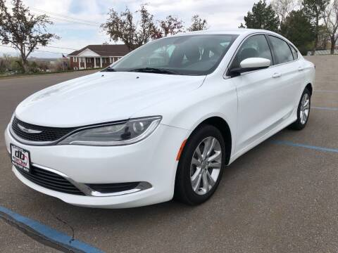 2015 Chrysler 200 for sale at DRIVE N BUY AUTO SALES in Ogden UT