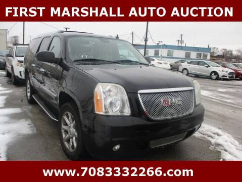 2010 GMC Yukon XL for sale at First Marshall Auto Auction in Harvey IL