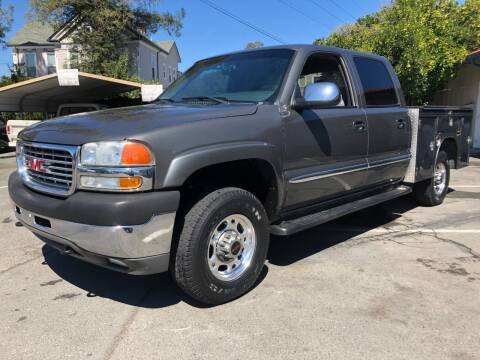 2002 GMC Sierra 2500HD for sale at Martinez Truck and Auto Sales in Martinez CA