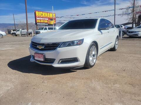 2016 Chevrolet Impala for sale at Bickham Used Cars in Alamogordo NM