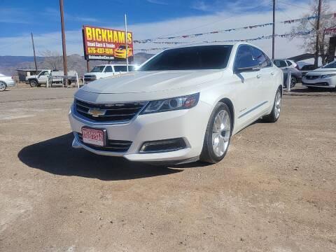 2016 Chevrolet Impala for sale at Bickham Used Cars in Alamogordo NM
