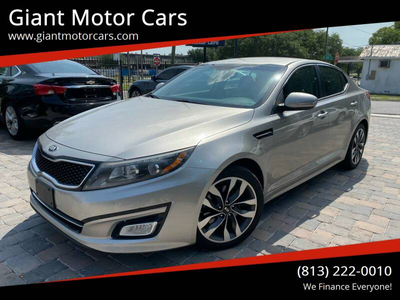 2015 Kia Optima for sale at Giant Motor Cars in Tampa FL
