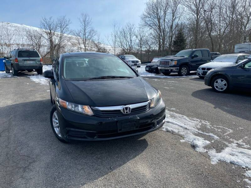 2012 Honda Civic for sale at Auto Gallery in Taunton MA