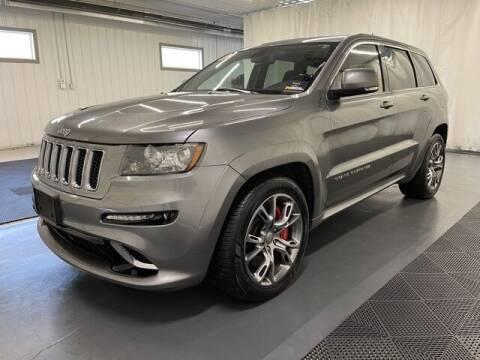 2012 Jeep Grand Cherokee for sale at Monster Motors in Michigan Center MI