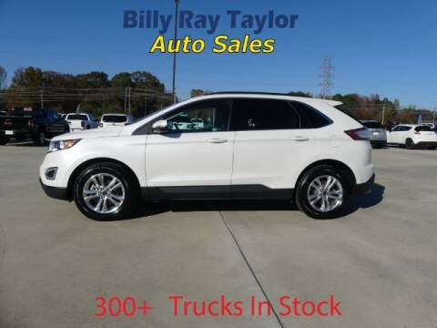 2018 Ford Edge for sale at Billy Ray Taylor Auto Sales in Cullman AL