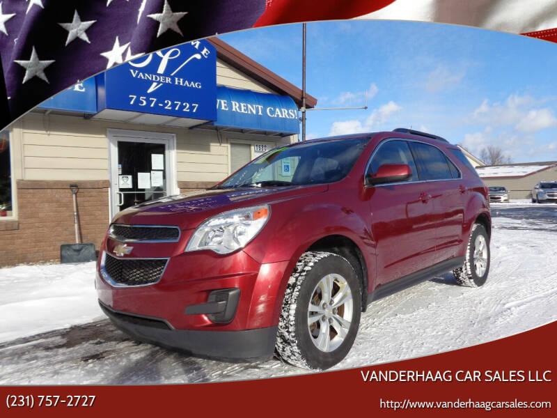 2012 Chevrolet Equinox for sale at VanderHaag Car Sales LLC in Scottville MI