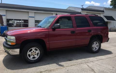 2006 Chevrolet Tahoe for sale at Antique Motors in Plymouth IN