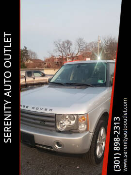 2005 Land Rover Range Rover for sale at SERENITY AUTO OUTLET in Frederick MD