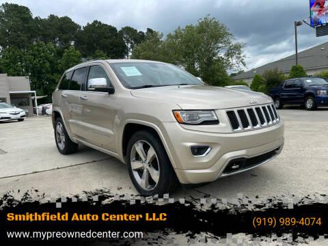 2014 Jeep Grand Cherokee for sale at Smithfield Auto Center LLC in Smithfield NC