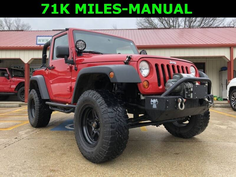 2008 Jeep Wrangler for sale at PITTMAN MOTOR CO in Lindale TX