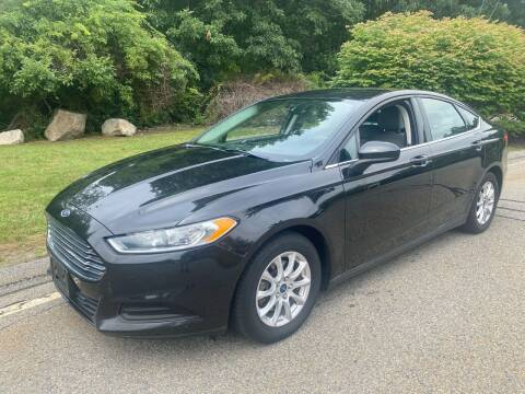 2015 Ford Fusion for sale at Padula Auto Sales in Braintree MA