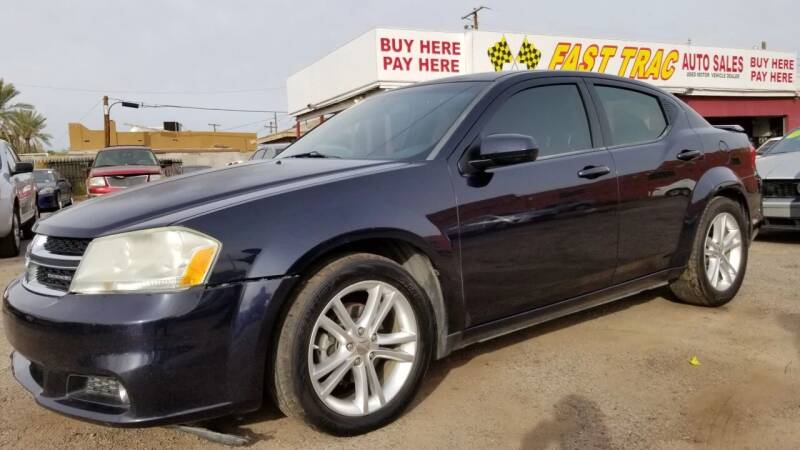 2011 Dodge Avenger for sale at Fast Trac Auto Sales in Phoenix AZ