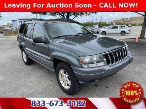 2002 Jeep Grand Cherokee for sale at Glenbrook Dodge Chrysler Jeep Ram and Fiat in Fort Wayne IN