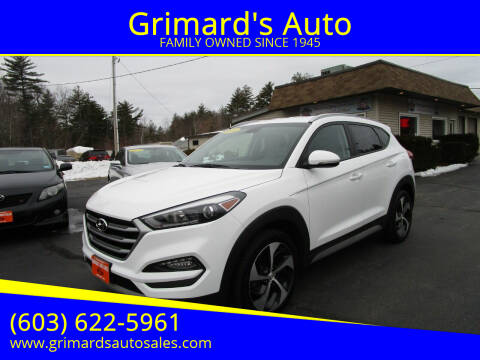 2018 Hyundai Tucson for sale at Grimard's Auto in Hooksett, NH