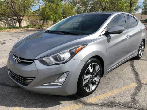 2015 Hyundai Elantra for sale at DRIVE N BUY AUTO SALES in Ogden UT