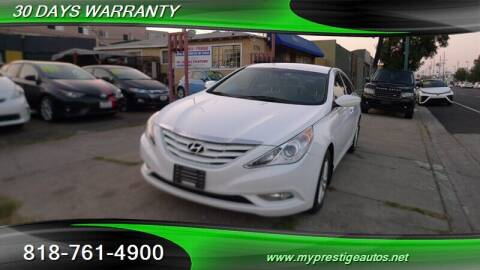 2013 Hyundai Sonata for sale at Prestige Auto Sports Inc in North Hollywood CA
