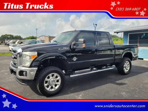 2016 Ford F-350 Super Duty for sale at Titus Trucks in Titusville FL