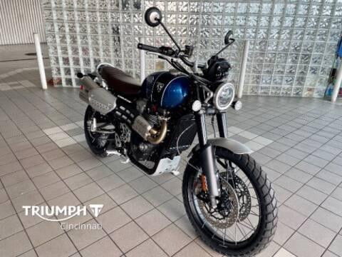 2022 Triumph Scrambler 1200 XC for sale at TRIUMPH CINCINNATI in Cincinnati OH