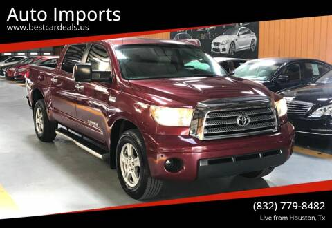 2007 Toyota Tundra for sale at Auto Imports in Houston TX