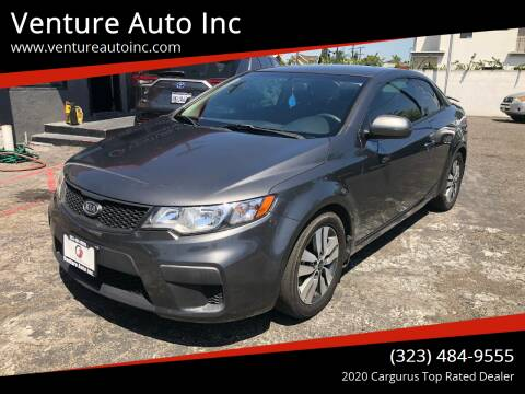 2013 Kia Forte Koup for sale at Venture Auto Inc in South Gate CA