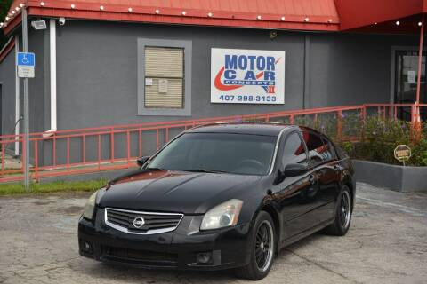 2008 Nissan Maxima for sale at Motor Car Concepts II - Kirkman Location in Orlando FL