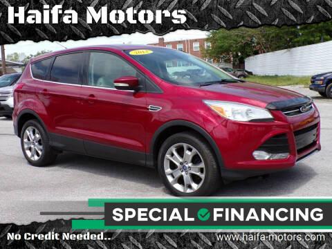 2013 Ford Escape for sale at Haifa Motors in Philadelphia PA