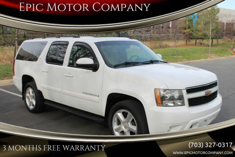 2008 Chevrolet Suburban for sale at Epic Motor Company in Chantilly VA