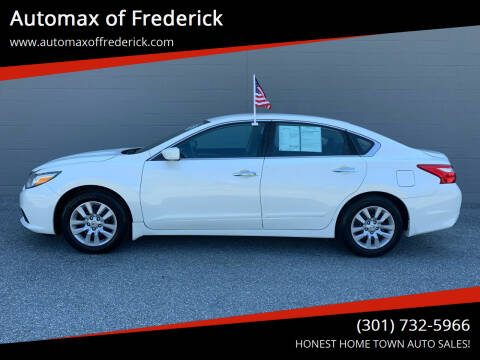 2017 Nissan Altima for sale at Automax of Frederick in Frederick MD