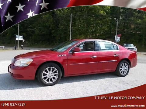 2009 Buick Lucerne for sale at Titusville Motor Company in Titusville PA