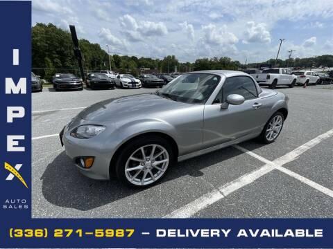 2012 Mazda MX-5 Miata for sale at Impex Auto Sales in Greensboro NC