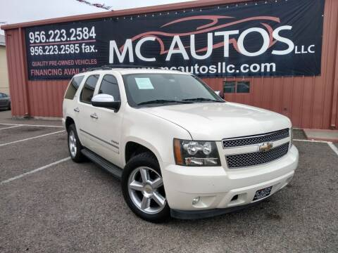 2009 Chevrolet Tahoe for sale at MC Autos LLC in Pharr TX