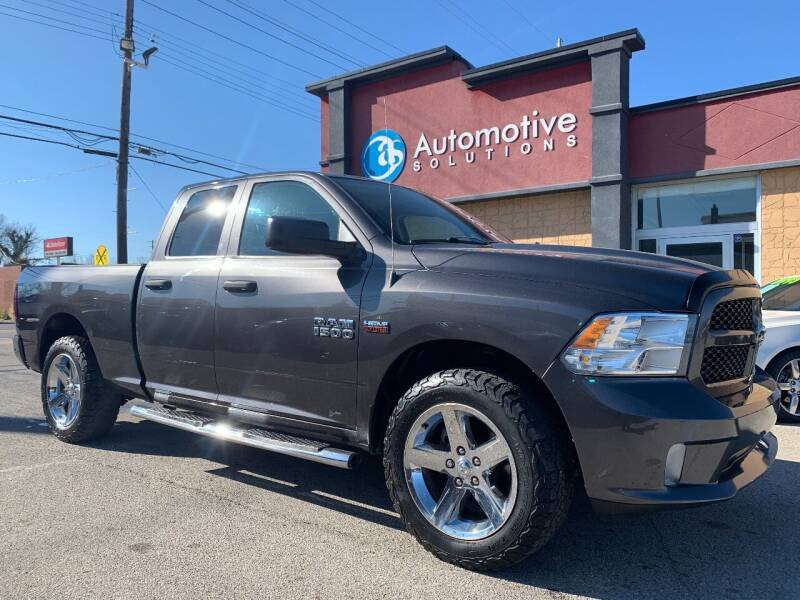 2014 RAM Ram Pickup 1500 for sale at Automotive Solutions in Louisville KY