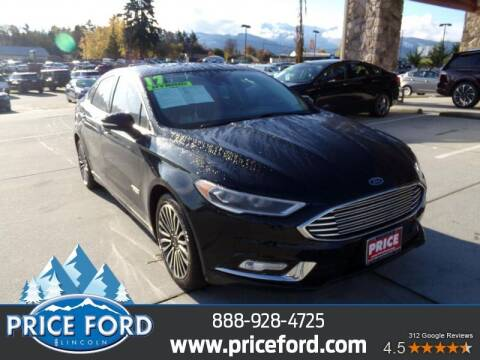 2017 Ford Fusion Energi for sale at Price Ford Lincoln in Port Angeles WA
