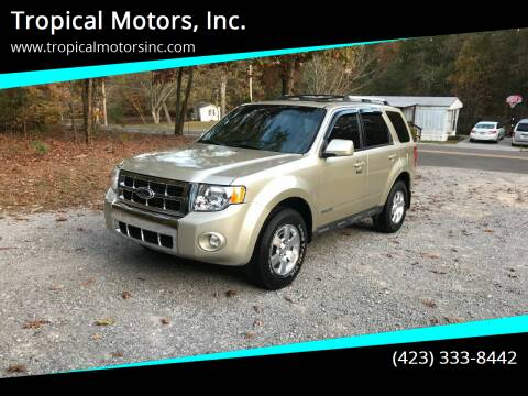 2012 Ford Escape for sale at Tropical Motors, Inc. in Riceville TN