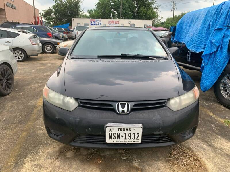 2008 Honda Civic for sale at 1st Stop Auto in Houston TX