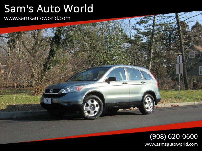 2010 Honda CR-V for sale at Sam's Auto World in Roselle NJ
