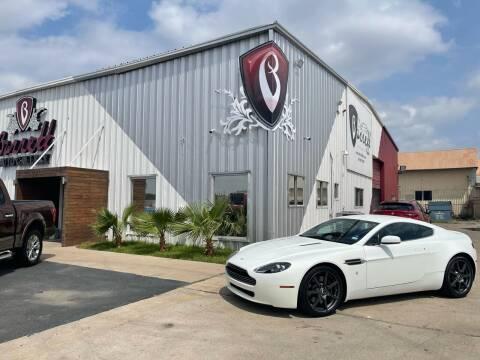 2008 Aston Martin V8 Vantage for sale at Barrett Auto Gallery in San Juan TX
