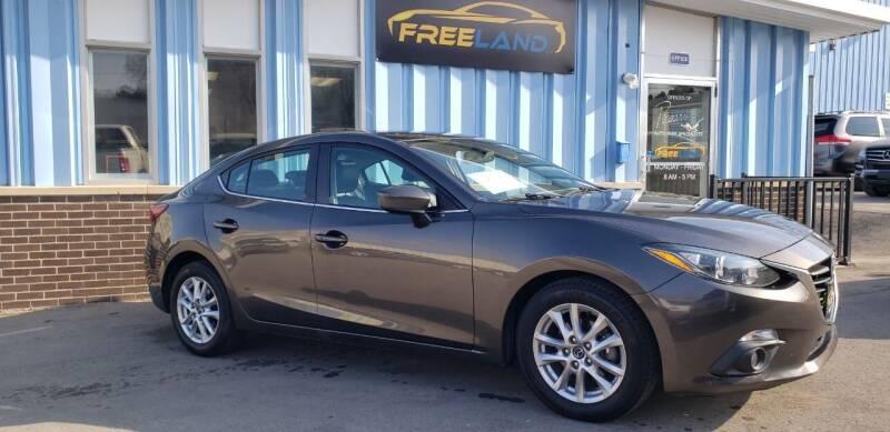 2015 Mazda MAZDA3 for sale at Freeland LLC in Waukesha WI